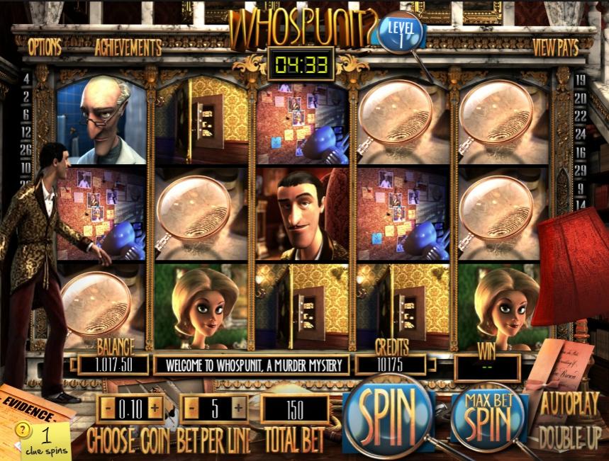 3D игровой автомат Who Spun It