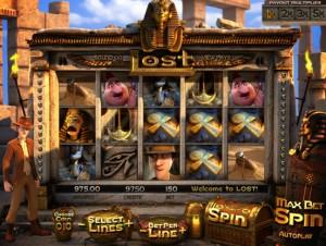 игровой 3D автомат Lost