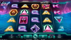 scatter и wild игровой автомат neon stax