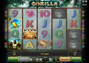 Игровой автомат Gorilla (Горила)