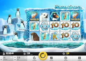 Слот Penguin Splash