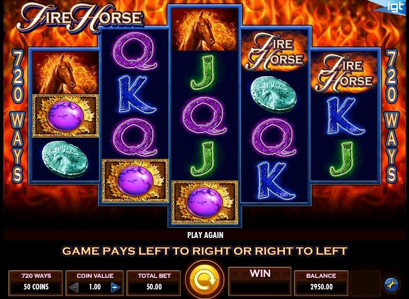 Игровой автомат Fire Horse
