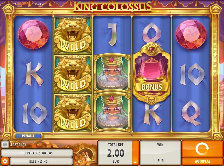 Игровой автомат King Colossus