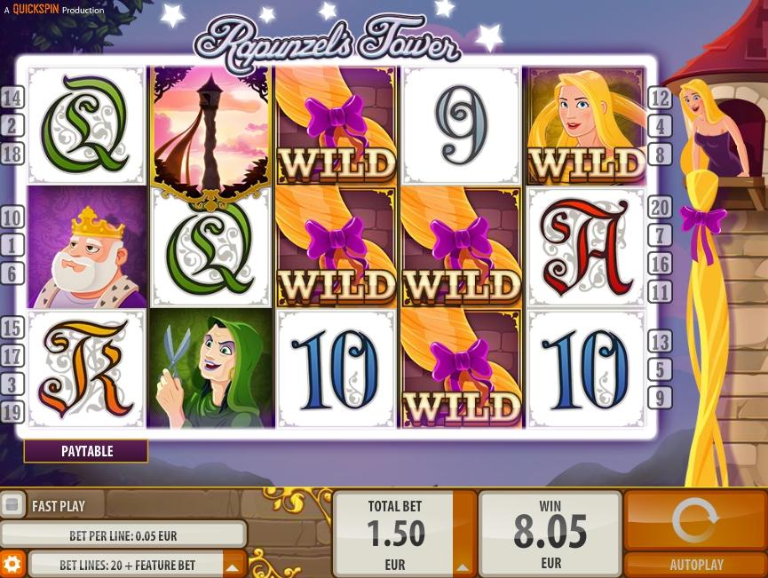 Игровой автомат Rapunzels Tower