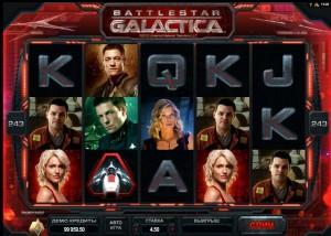 Игровой автомат Battlestar Galactica