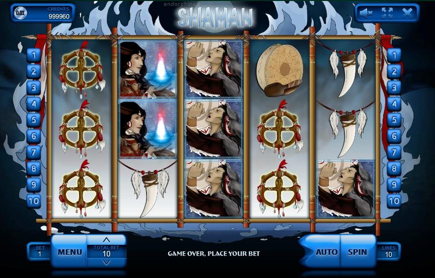 Игровой автомат Shaman