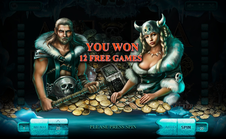 Игровой автомат The Vikings
