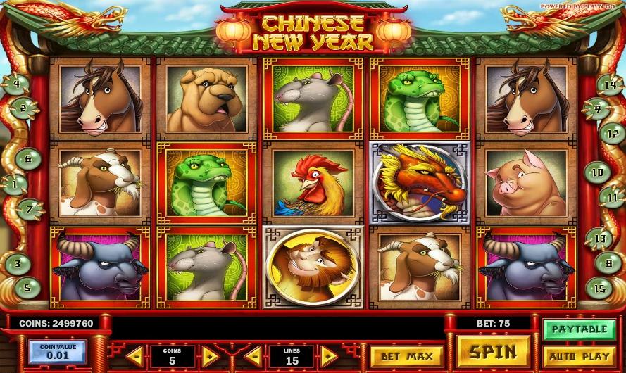 Игровой автомат Chinese New Year