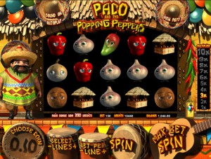 игровой 3D автомат Paco and the Popping Peppers