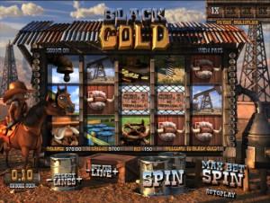 видео автомат Black Gold